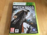 Xbox 360 Watchdogs Game
