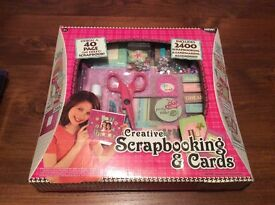 Brand new - Creative scrapbook and cards set