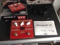Vox bass stomplab fx units
