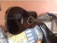Rare Hondo Electro-Acoustic Guitar