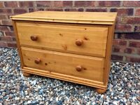 Pine Chest of Drawers ... £25