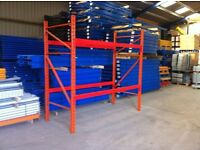 REDIRACK HEAVY DUTY INDUSTRIAL COMMERCIAL SHED STORAGE GARAGE WAREHOUSE PALLET RACKING UNIT BAY
