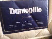 "Dunilopillo ""memory"" mattress,single,excellent order,£50.00"