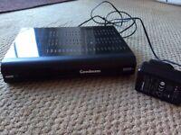 Goodmans Freeview+ box, 320gb twin tuner digital tv recorder