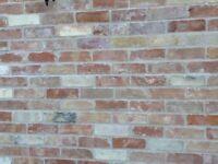 Reclaimed Cambridge multi colour bricks
