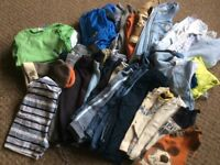 9-12 months boys clothes bundle
