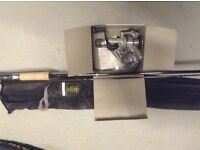 Daiwa rod and reel for sale. New , never been used