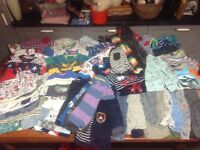 Boys 12-24 months 1-2 years HUGE BUNDLE OF CLOTHING Over 150 items