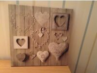 Hearts Canvas Picture