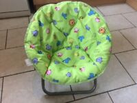 Children's garden / camping chair