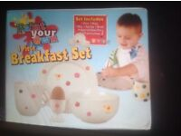 Paint your own Breakfast Set