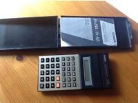 Casio (Scientific Calculator Model FX-82c..With case & instruction booklet..Just replaced batteries