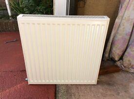Small white radiator