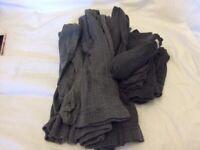 Girls Grey School Tights and Socks 6/7 7/8