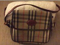 Vintage Burberry Shoulder Bag