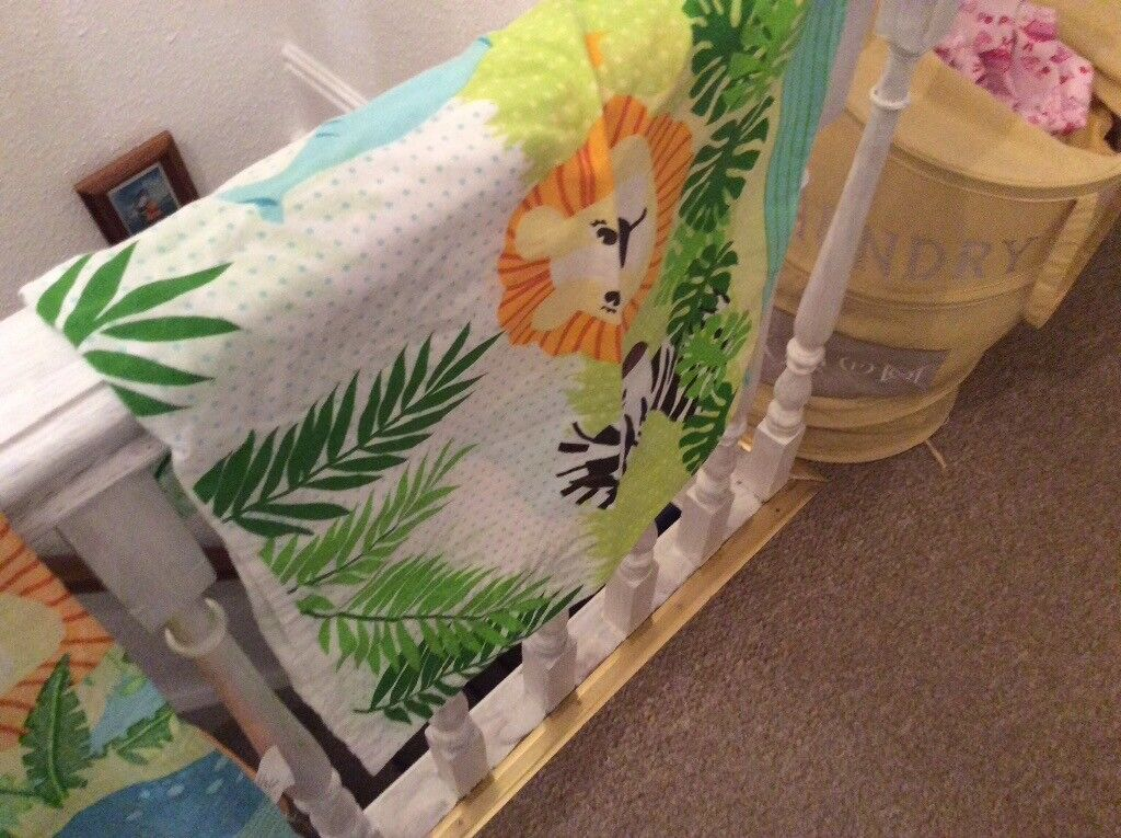 Single Jungle Theme Duvet Cover And Pillow Case In Kimberley