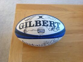 Bath Rugby signed ball