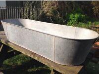 Galvanised Tin Bath - Large