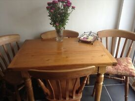 Very old European Pine Dining Table