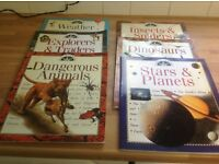 Set of 9 children's discoveries science books
