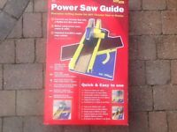 Power saw guide