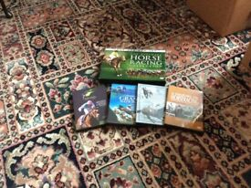 Selection of horse racing dvds