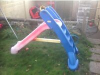 Large garden / outdoor plastic slide for kids (and smaller adults ;-)