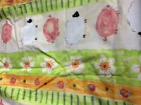 Children's Farm Animal Curtains - Fully Lined