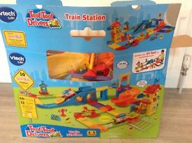 Toot Toot Drivers Train Station - As New With Box