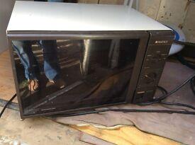 Used microwave works fine