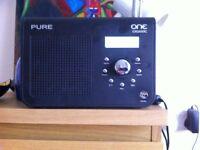 PURE ONE CLASSIC DAB RADIO