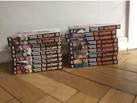 Naruto Shippuden volumes 28-45