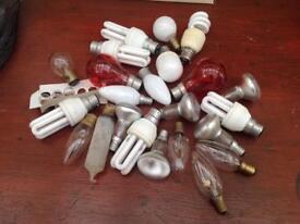 Job lot of light bulbs mixed all tested