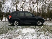 Suzuki Grand Vitara for sale. 4 wheel drive. Good condition. Colour Black. 3 Month MOT remaining.