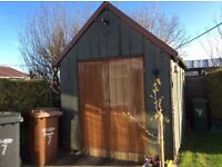 FREE FOR COLLECTION GARDEN SHED 12 x 8