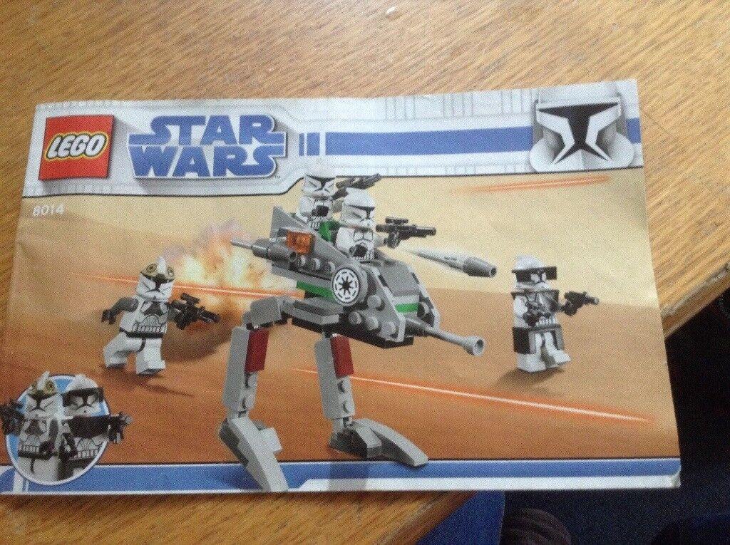 8014 Lego Star Wars Clone Walker Battle Pack In Cambridge
