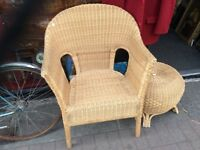 Large Cane chair