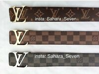 All colour Louis Vuitton Belt Good Quality Lv Bag Any 2 for £45 Wallet