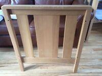 Mamas and papas chamberlain oak effect cot bed