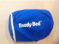 Ready bed and sleeping bag - pump up bed