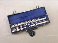 Gemeinhargt flute and case