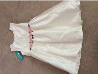New girls dress- ideal bridesmaid/christening dress
