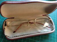 80s glasses and case retro
