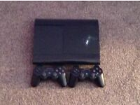 PlayStation 3 500gb with 31 games and 3 controllers