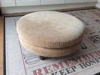 Large Footstool in Dralon 28 ins wide 12 ins high