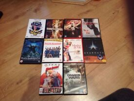 Various DVDs for sale - 50p each or £4 for the lot ONO
