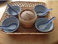 Oriental Chinese bowl set