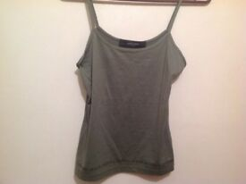JASPER CONRAN TOP karki 10 Medium vest