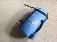 Light & Dark Blue Sleeping Bag
