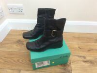 Ladies Black ankle boots